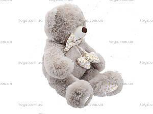Музыкальный медвежонок с бантом, 50 см, 639550, купить
