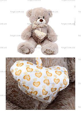 Музыкальный медвежонок с бантом, 50 см, 639550