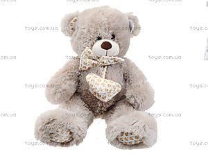 Музыкальный медвежонок с бантом, 50 см, 639550, отзывы