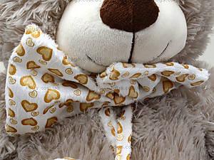 Музыкальный медвежонок с бантом, 50 см, 639550, цена