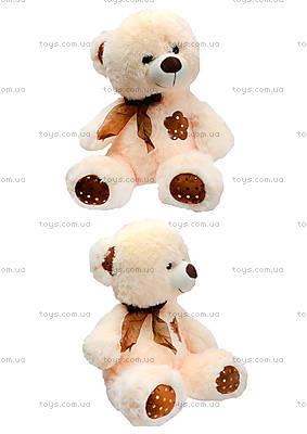 Плюшевый мишка с цветком, 50 см, 1406B50