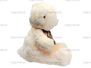 Плюшевый мишка с цветком, 50 см, 1406B50, игрушки