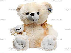 Мягкий медвежонок с игрушкой, 313145, купить