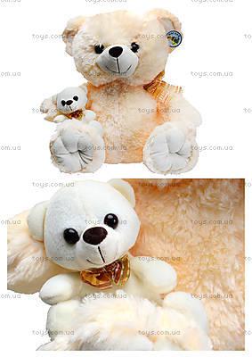 Мягкий медвежонок с игрушкой, 313145