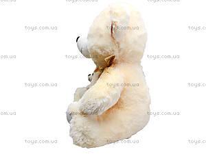 Мягкий медвежонок с игрушкой, 313145, отзывы