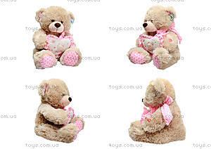 Музыкальный медвежонок с сердечком, 639640