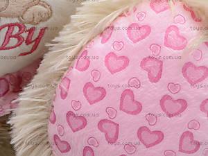 Музыкальный медвежонок с сердечком, 639640, игрушки