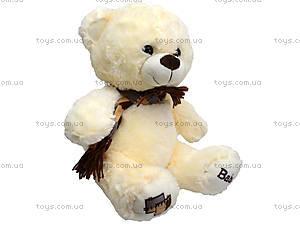 Мягкий медвежонок с шарфом, 60 см, 126960, детские игрушки