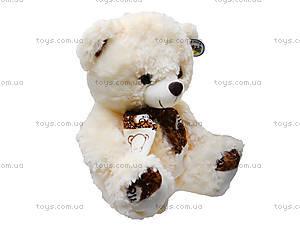 Музыкальная мишка с шарфом, 331435, фото