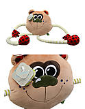 Мягкий мишка «Смайлик», К423Т, отзывы