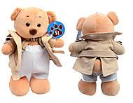 Мягкая игрушка Мишка в куртке, 679525, купить