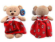 Игрушка Мишка в платье, 679525