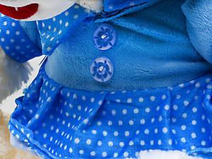 Мишка плюшевый в платье, музыаь6ный, 343330, магазин игрушек