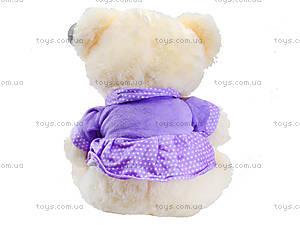 Музыкальная игрушка «Мишка в платье», 396930, фото
