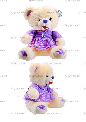 Музыкальная игрушка «Мишка в платье», 396930