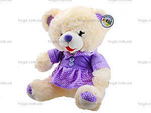 Игрушечный медвежонок в платье, 396945, цена