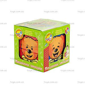 Мягкий кубик «Мишкины эмоции», EMB0\M, купить