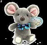 Мышонок мальчик 17 см, 190063A, детские игрушки