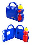 Бутылка для воды (поилка) + ланч бокс, желтый Colorino, 42383PTR, детские игрушки