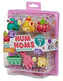 Набор ароматных игрушек NUM NOMS S3 «Овощи & фрукты», 546351