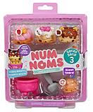 Набор ароматных игрушек NUM NOMS S3 «Пончики», 546337, купить