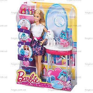 Игровой набор Barbie «Гламурный салон для любимцев», CFN40, фото