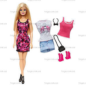 Набор Barbie «Модница» с одеждой, CDM10, фото