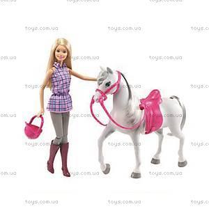 Кукла Barbie серии «Прогулка верхом», DHB68