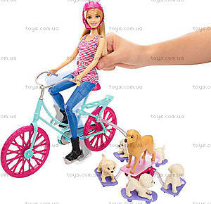 Игровой набор «Барби со щенками на прогулке», CLD94, отзывы