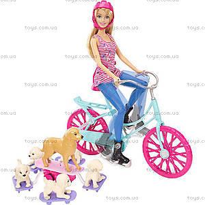 Игровой набор «Барби со щенками на прогулке», CLD94, цена