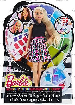 Игровой набор с куклой Барби «Цветной микс», DHL90