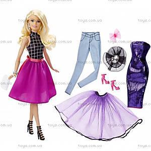 Набор Barbie с куклой «Модный калейдоскоп», DJW57, фото