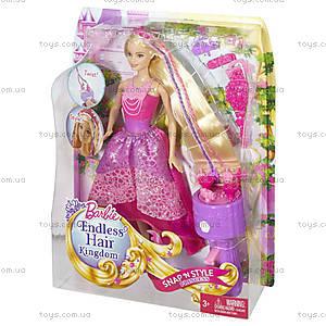 Набор Barbie с куклой серии «Королевские косы», DKB62, фото
