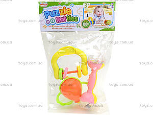 Набор погремушек для малышей, 6 штук, 1022-3, цена