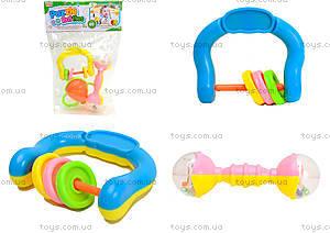 Набор погремушек для малышей, 6 штук, 1022-3