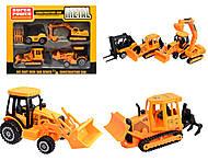 Строительный набор машинок - конструкторов, 93124-SP