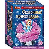 Детский набор для опытов «Цветочная фея в кристаллах», 12138022Р, купить