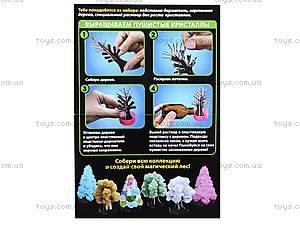 Набор для опытов «Лес кристаллов», зеленый, 0259, детские игрушки