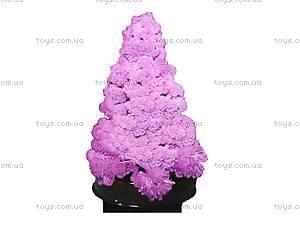 Набор для опытов «Ёлка в кристаллах», розовая, 0256, купить
