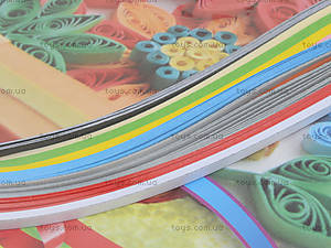 Набор бумаги для квиллинга «Набор №2», 100 полосок, Ц436007У, фото