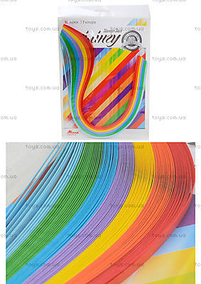 Набор бумаги для квиллинга «Серия Радуга», Ц436010У