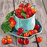 Картина по номерам «Черешневые вкусности», КНО5552, интернет магазин22 игрушки Украина