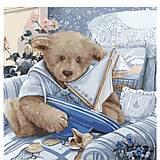 Картина по номерам «Плюшевый юнга», КНО2311