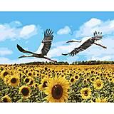 """Картина по номерам """"Аисты в небе"""" ★★★★★, КНО4182, игрушки"""