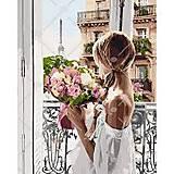 Картина по номерам «Из Парижа с любовью», КНО4567, тойс ком юа