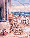 Картина по номерам «Отдых в Париже», КНО4544, купити