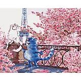 """Рисование по номерам """"Свидание в Париже"""" 40*50 см, КНО4047, детские игрушки"""