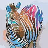 Картина по номерам «Зебра поп-арт», КНО2463, цена