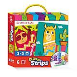 Набор для творчества «Sticky Strips. Лама» (укр), VT4433-04, фото
