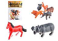 Игровой Набор диких животных, 12 штук, SC002